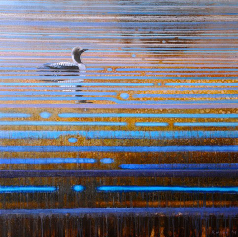 ewoud-de-groot-arctic-loon-painting-oil-on-linen