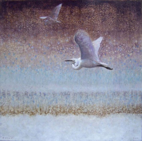 ewoud-de-groot-egrets-painting-oil-on-linen