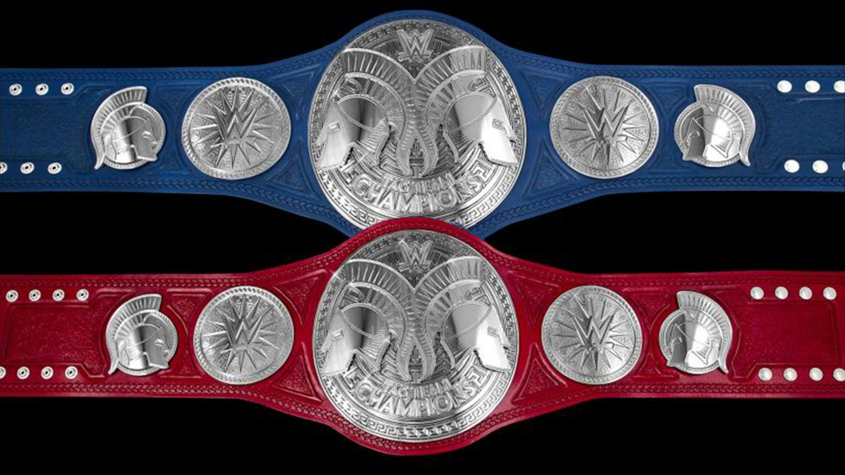 When Should WWE Debut New Tag Team Championship Belt Designs?