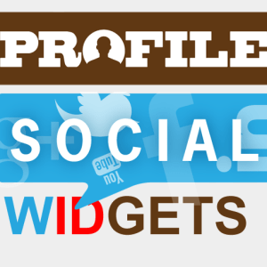 My Social Media Widgets - Oxwall Plugin