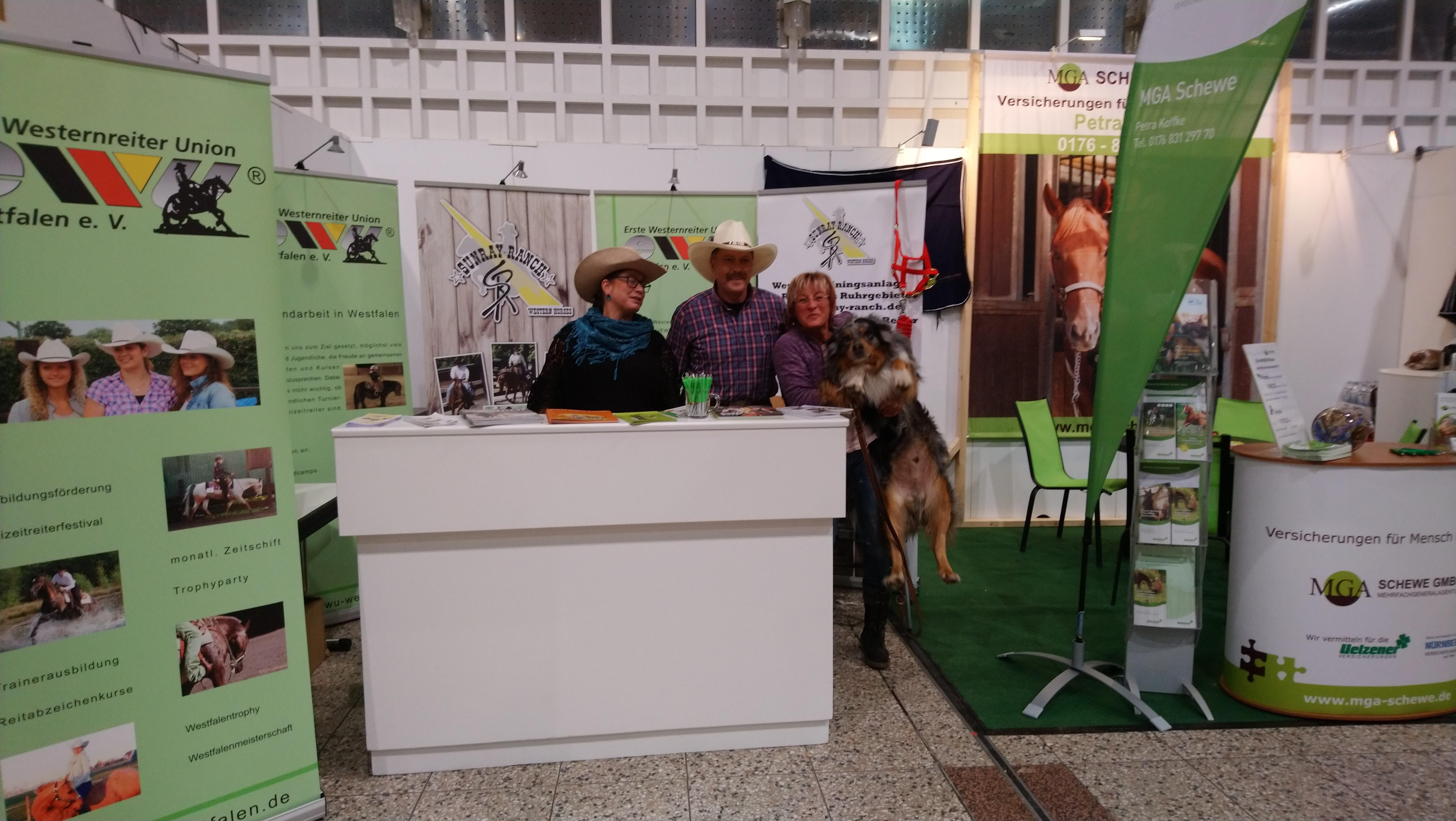 Messe Hund & Pferd in Dortmund 2018 – Wir freuen uns auf Euch!