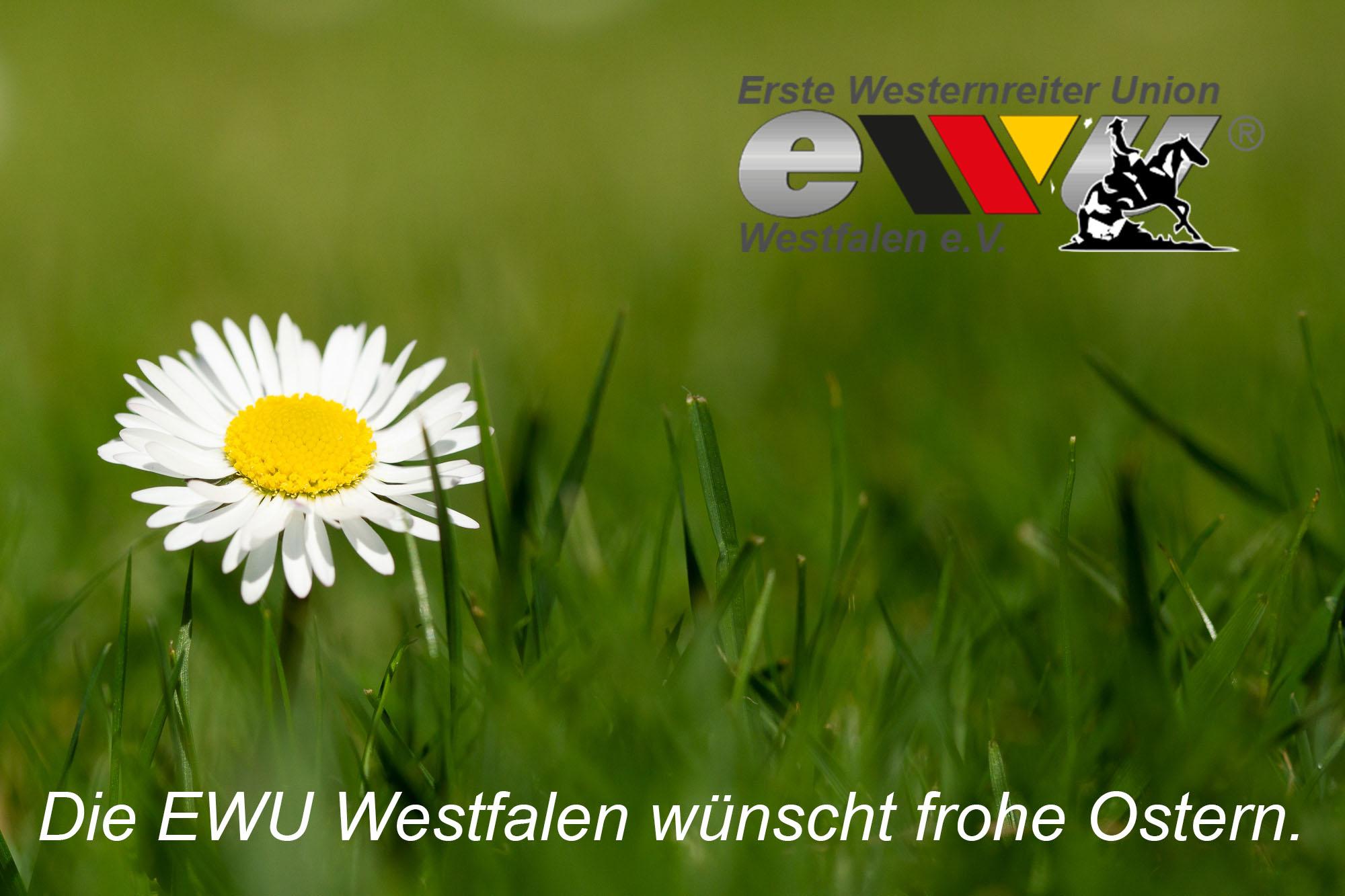 Die EWU Westfalen wünscht frohe Ostern
