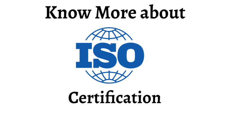 what is a iso certification