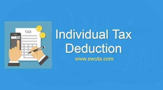 individual tax deduction