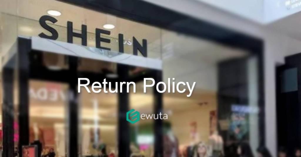 shein return policy