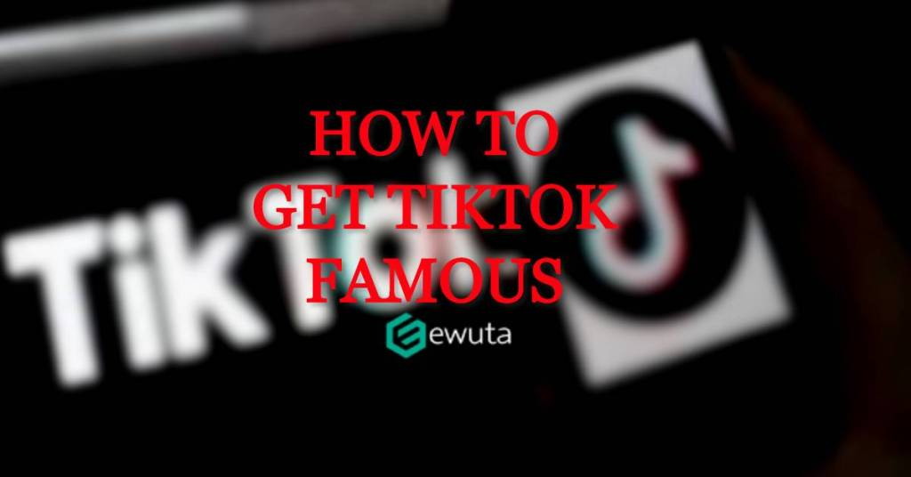get tiktok famous