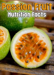 Granadilla - Passion Fruit: Nutrition Facts
