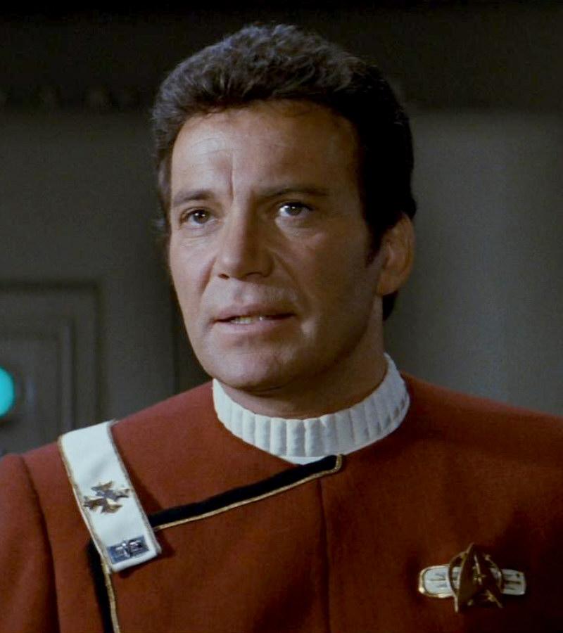 T Captain William Kirk James Shatner