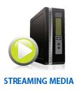 Fully managed streaming media server