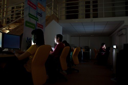 Exabytes Earth Hour 2012