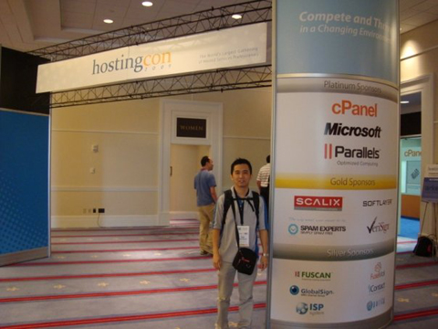 HostingCon 2009 event photo
