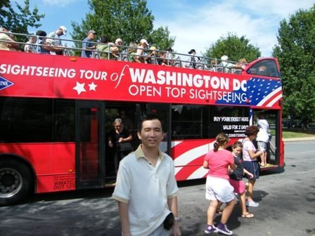 Double Decker Washington DC Open Top Sightseeing Tour
