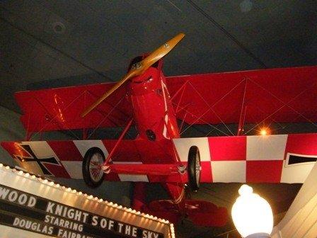 old aeroplane