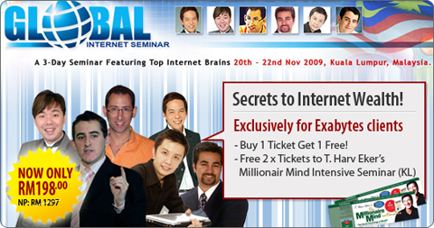 Global Internet Summit 2009 poster