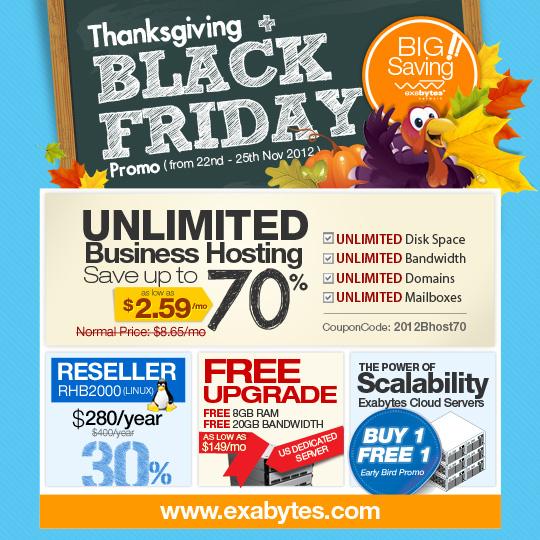 Thanksgiving + Black Friday Promo US