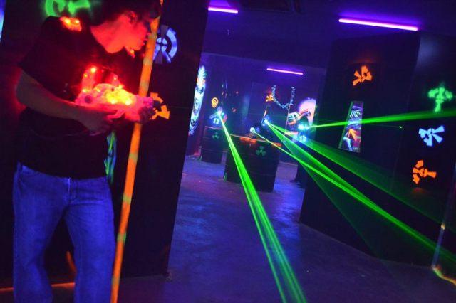 Exabytes KL Team Building @ Laser Warzone, IOI Mall 4