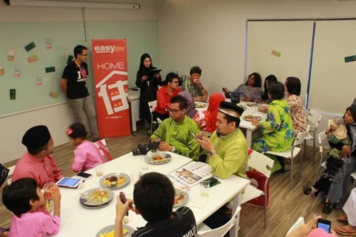 Exabytes Puchong office Hari Raya open house 11