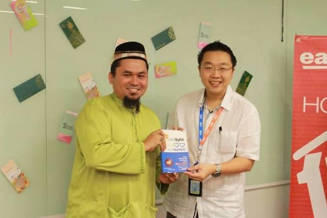 Exabytes Puchong office Hari Raya open house 13
