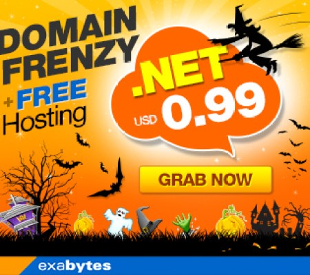Domain Frenzy + Free hosting promo