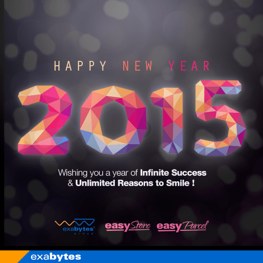 Exabytes Happy New Year Wish 2015