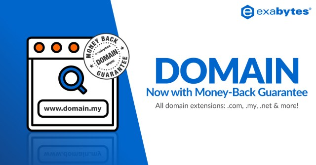 Domain Money Back Guarantee