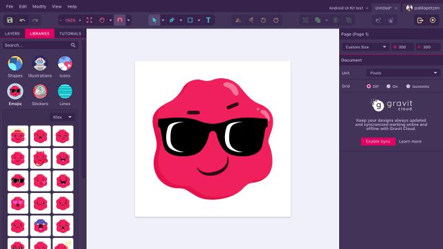 gravit designer screenshot