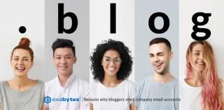 reasons blogger need company email account