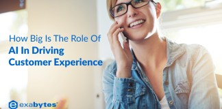 role of AI in helping customer experience