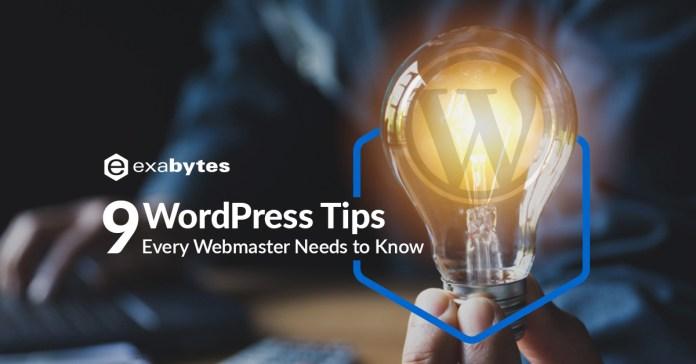 9-WordPress-Tips-Every-Webmaster-Needs-to-Know
