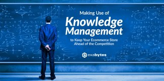 Making Use of Knowledge Management to Keep Your Ecommerce Store Ahead of the Competition