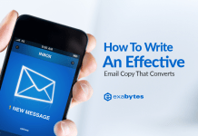 How To Write An Effective Email Copy That Converts