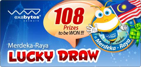 Merdeka-Raya Lucky Draw