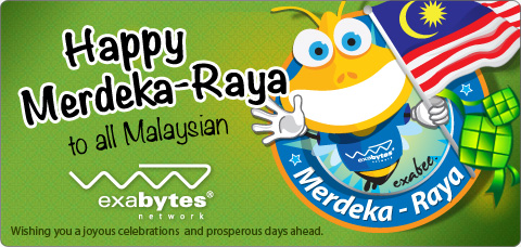 Happy Merdeka-Raya to all Malaysian