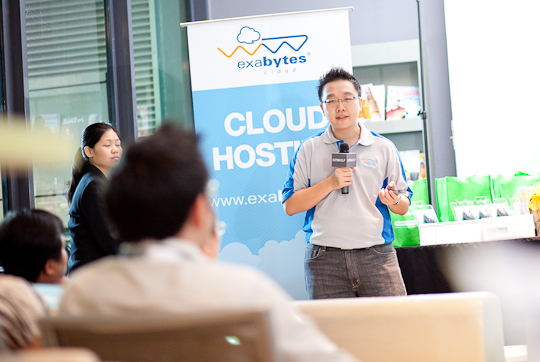 "Exabytes ""Hitting The Cloud"" Launch event photo"