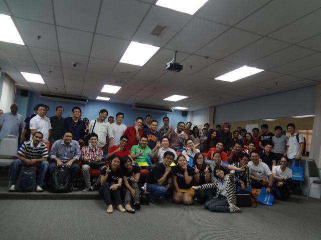 Exabytes and Nexus SEO workshop group photo