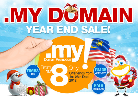 MY Domain Sale