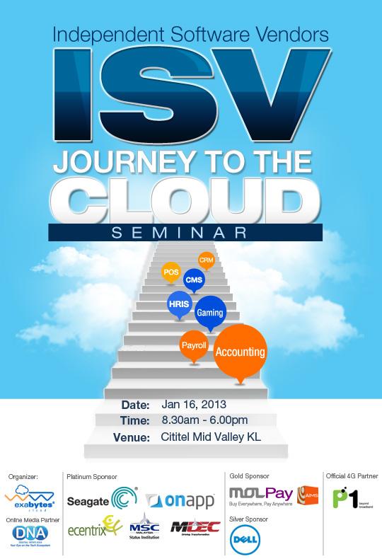 Exabytes ISV Journey To The Cloud Seminar