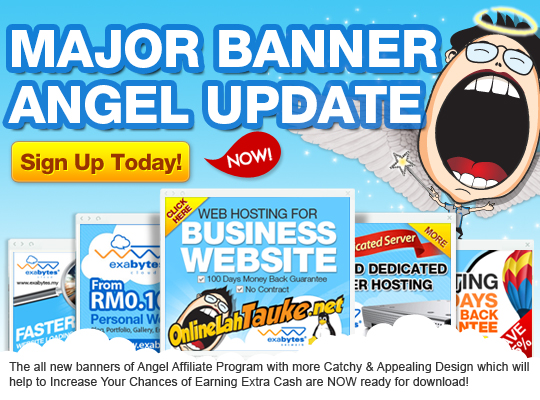 Exabytes Angel Affiliate Banner Update