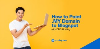 How To Point .MY Domain to Blogspot with DNS Hosting