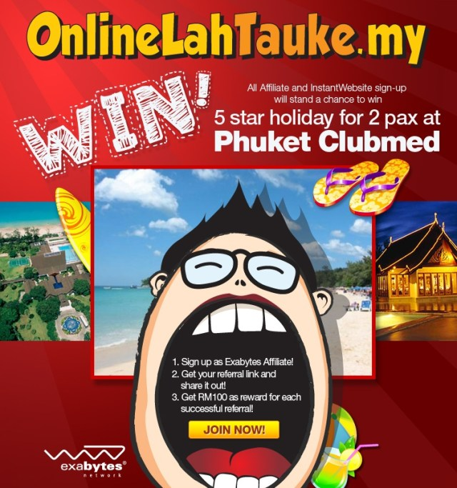 onlinelahtauke.my affiliate competition
