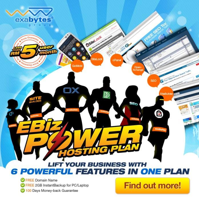 EBiz Power Hosting plan