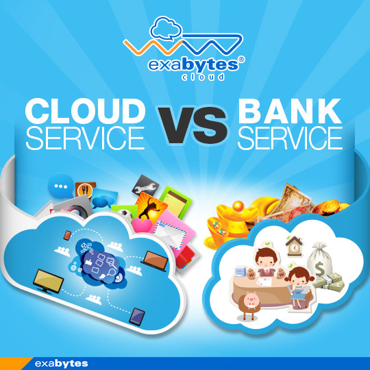 cloud service vs bank service