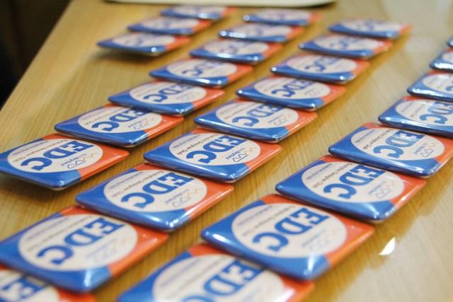 EDC badges