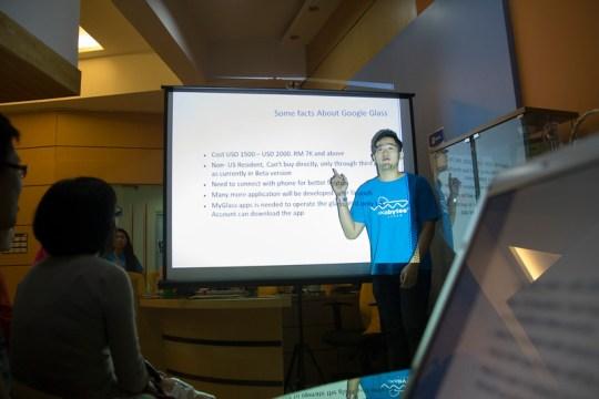 Google glass presentation
