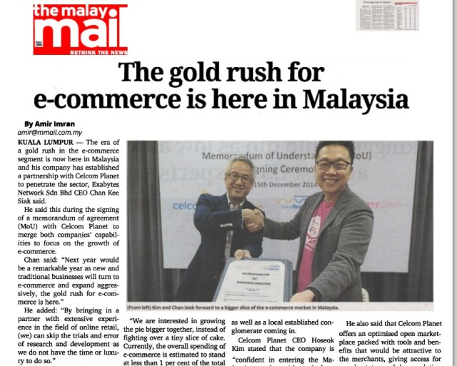 The gold rush for e-commerce is here in Malaysia - The Malay Mail