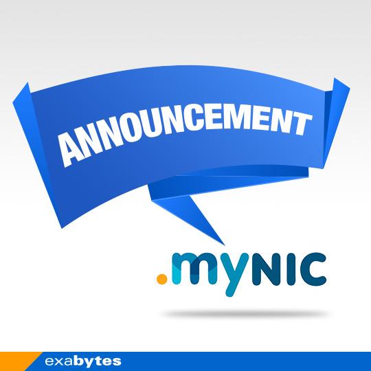 announcement .mynic