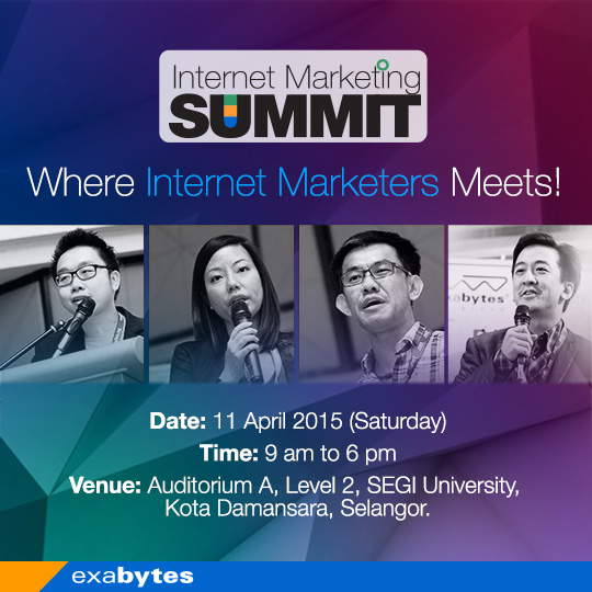 exabytes internet marketing summit 2015