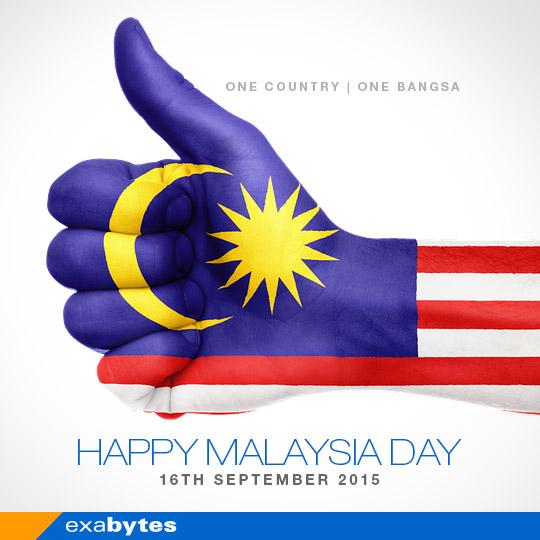 Happy Malaysia Day 2015