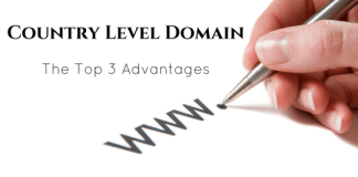 top 3 advantages of country level domain