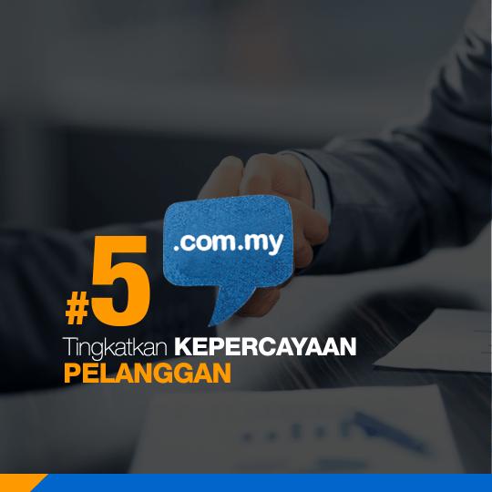 Kelebihan Domain .COM.MY / .MY